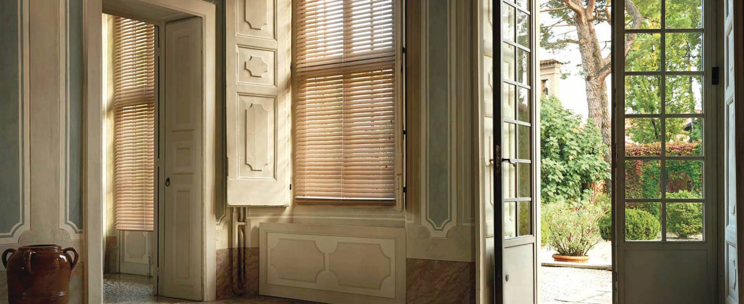 Venetian blinds home depot blinds for sliding doors lowes for Special order french doors